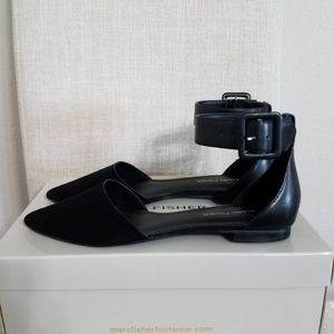 Marc Fisher Alfoso5 pointed toe flats size 8